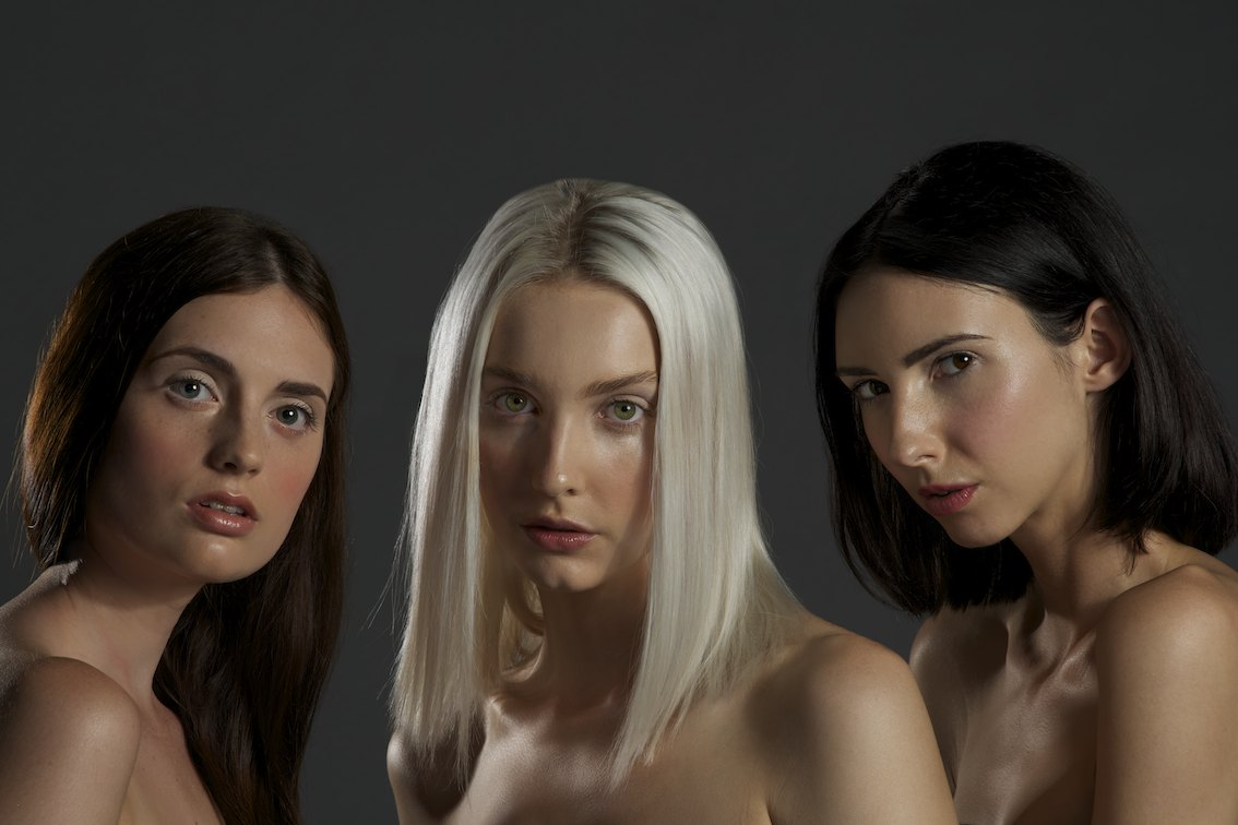 Photographer Rob Vallender, Hair & MUA Maria Rivera Models Talissa, Hayley & Fernfrom Division models