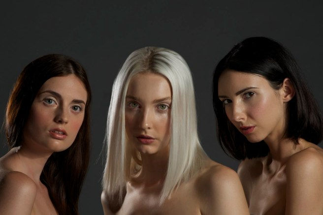 Photographer Rob Vallender, Hair & MUA Maria Rivera Models Talissa, Hayley & Fernfrom Division models