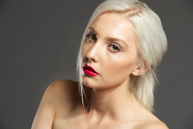 Photographer Rob Vallender, Hair & MUA Maria Rivera Models Hayley from Division models