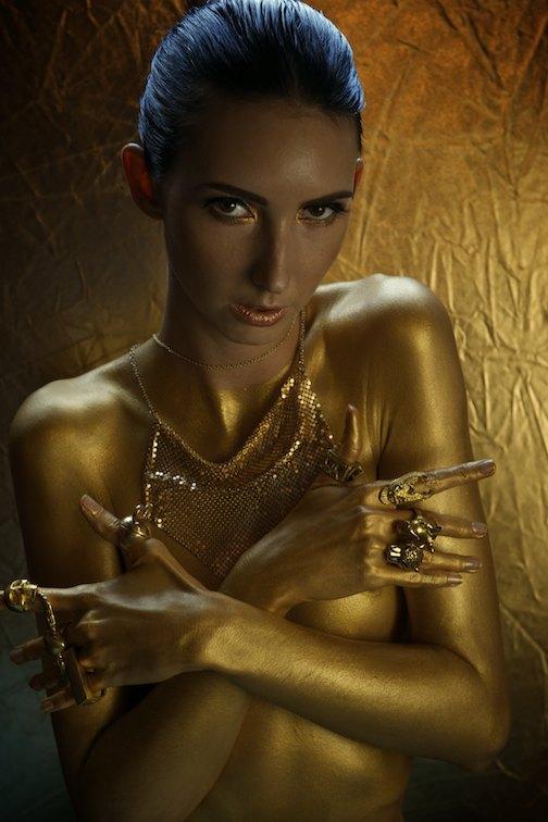 Photographer Rob Vallender, Hair & MUA Maria Rivera Models Fern from Division models