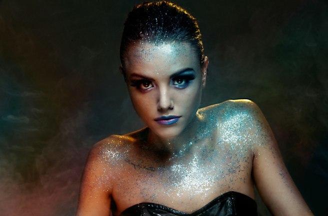 Make-up Maria Rivera, Photographer Silas Middleton, Model Jessie